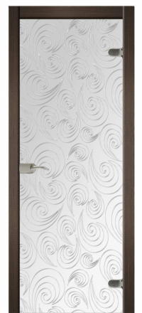 Межкомнатная дверь Дариано Синди стеклянная