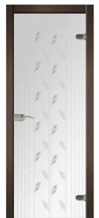 Межкомнатная дверь Дариано Люкс стеклянная