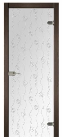 Межкомнатная дверь Дариано Марселина стеклянная