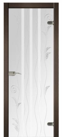 Межкомнатная дверь Дариано Магия стеклянная