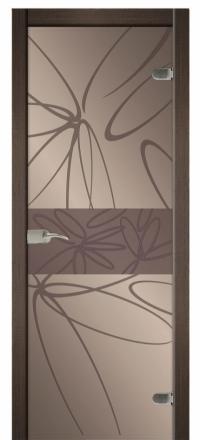 Межкомнатная дверь Дариано Мальта стеклянная