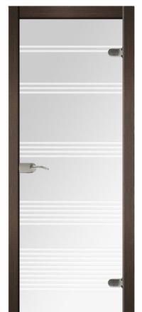 Межкомнатная дверь Дариано Динамика стеклянная