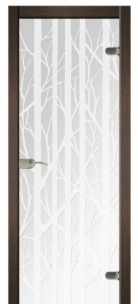 Межкомнатная дверь Дариано Форест стеклянная