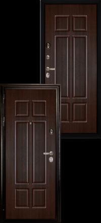 Металлическая входная дверь Сударь МД 07 венге
