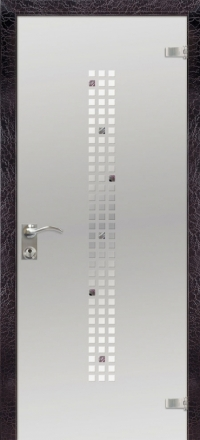 Межкомнатная дверь Дариано Микс стеклянная