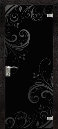 Межкомнатная дверь Дариано Миледи стеклянная