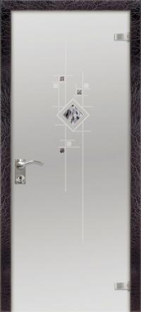 Межкомнатная дверь Дариано Мозаика стеклянная
