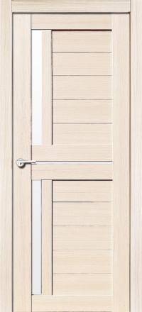 Межкомнатная дверь Porta Bella Nano Шпон Соренто М акация остекленная