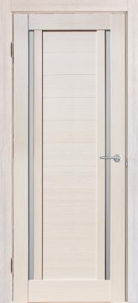 Межкомнатная дверь Porta Bella Nano Шпон Стелла жемчуг остекленная