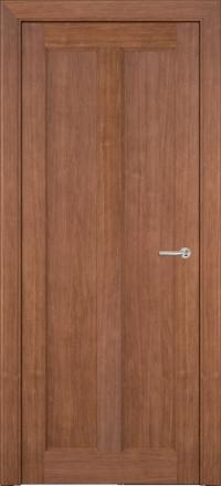 Межкомнатная дверь Porta Bella Эко Premium Эллада орех светлый глухое полотно