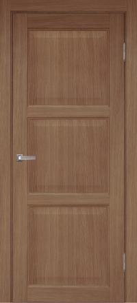 Межкомнатная дверь Porta Bella Эко Premium Лагуна орех светлый глухое полотно
