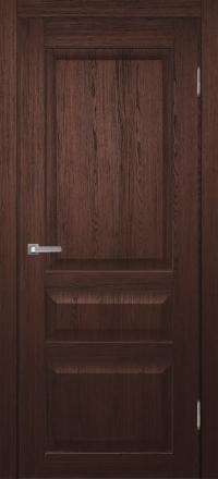 Межкомнатная дверь Porta Bella Эко Premium Милена венге кантри глухое полотно