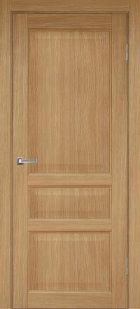 Межкомнатная дверь Porta Bella Эко Premium Милена орех светлый глухое полотно