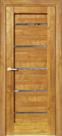 Межкомнатная дверь Porta Bella Эко Premium Модерн 12 дуб натуральный стекло триплекс