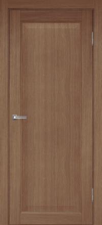 Межкомнатная дверь Porta Bella Эко Premium Сиена орех светлый глухое полотно