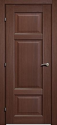 Межкомнатная дверь Porta Bella Эко Premium Юнона орех темный глухое полотно