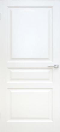 Межкомнатная дверь Дворецкий Престиж 3 белая эмаль глухое полотно