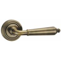 Дверная ручка раздельная Punto LIBRETTO ML ABG-6 зеленая бронза