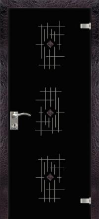 Межкомнатная дверь Дариано Шарм стеклянная