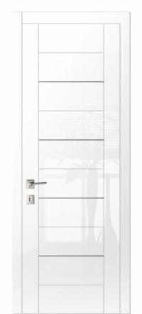 Межкомнатная дверь Дариано Шотти-2 Белый глянец глухая
