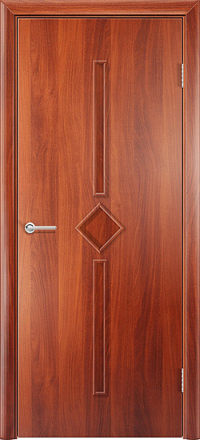 Межкомнатная дверь Содружество Соло итальянский орех глухая