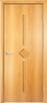 Межкомнатная дверь Содружество Соло миланский орех глухая