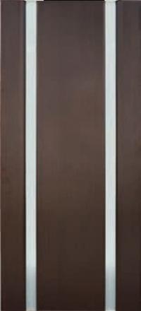 Межкомнатная дверь Дворецкий Спектр 2 венге остекленная