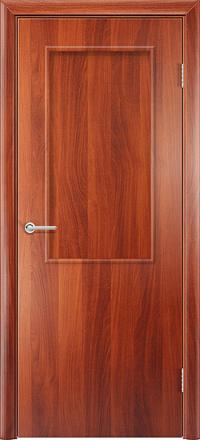 Межкомнатная дверь Содружество Стандарт итальянский орех глухая