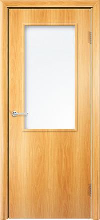Межкомнатная дверь Содружество Стандарт миланский орех со стеклом