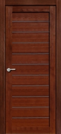 Межкомнатная дверь Porta Bella Экошпон Тефея памплона мелинга остекленная