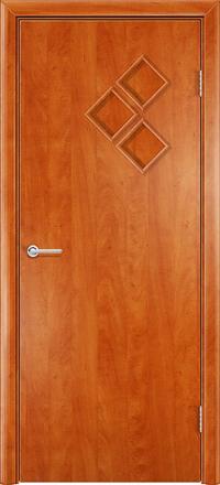 Межкомнатная дверь Содружество Трио груша глухая