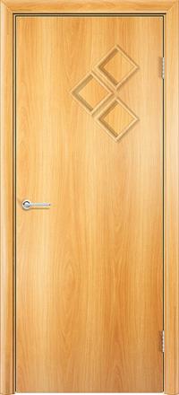 Межкомнатная дверь Содружество Трио миланский орех глухая