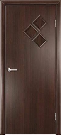 Межкомнатная дверь Содружество Трио венге глухая