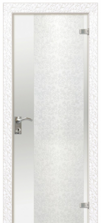 Межкомнатная дверь Дариано Юнона стеклянная