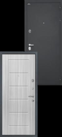 Стальная входная дверь Интекрон Колизей ФЛ-39 Сандал белый