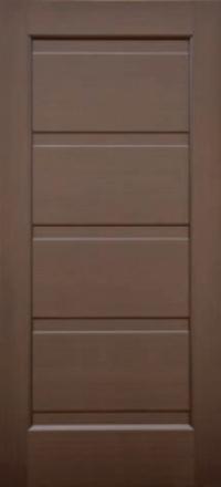 Межкомнатная дверь Дворецкий Влада венге глухое полотно