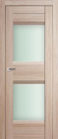 Межкомнатная дверь ПрофильДорс 61X Капучино мелинга стекло матовое
