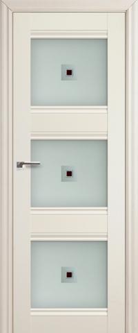 Межкомнатная дверь ПрофильДорс 4X Эш вайт со стеклом