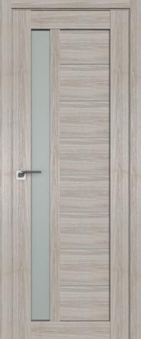 Межкомнатная дверь ProfilDoors 37X Капучино Мелинга стекло матовое