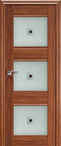 Межкомнатная дверь ПрофильДорс 4X Орех амари со стеклом