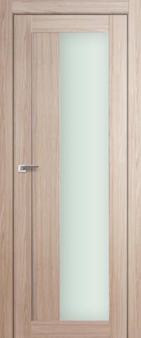 Межкомнатная дверь ПрофильДорс 47X Капучино мелинга со стеклом
