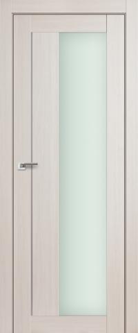 Межкомнатная дверь ПрофильДорс 47X Эш вайт мелинга со стеклом
